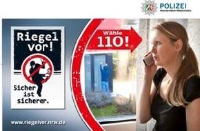 Polizeipressestelle Rhein-Erft-Kreis: POL-REK: Täter scheiterte zweimal - Bergheim