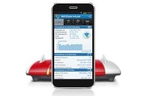 AVM GmbH: FRITZ!App WLAN: Mobile Geräte einfach mit dem WLAN verbinden und    Funkverbindungen optimal ausrichten