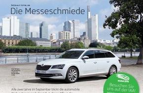 Skoda Auto Deutschland GmbH: SKODA Magazine beim 'Automotive Brand Contest' ausgezeichnet