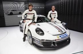Porsche Schweiz AG: Team Fach Auto Tech startet 2013 mit Alain Menu und Christian Engelhart / Einstieg in den Porsche Mobil 1 Supercup