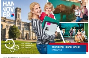 """Hannover Marketing und Tourismus GmbH: """"Rundum-Paket"""" um den Job und Work-Life-Balance: Neue Kampagne für Fachkräfte als Standort zum Arbeiten und Leben gestartet"""