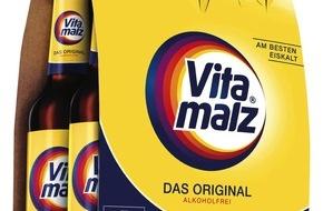 Krombacher Brauerei GmbH & Co.: Krombacher Brauerei integriert Vitamalz in das eigene Markenportfolio