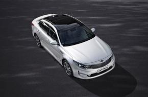KIA Motors Deutschland GmbH: Der neue Kia Optima: Stilvoller, dynamischer Auftritt, hochklassiges Interieur und neueste Technologien