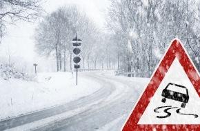 CosmosDirekt: Winterwetter: So kommen Autofahrer sicher durch die kalte Jahreszeit