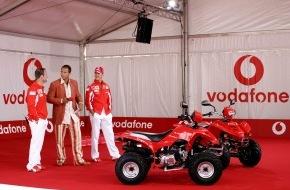 Vodafone GmbH: RTL-Spendenmarathon und eBay: Vodafone versteigert Gemälde und Fahrzeug von Michael Schumacher und Rubens Barrichello