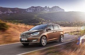 Ford-Werke GmbH: Verkaufsstart für die neue Ford C-MAX-Baureihe