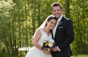 """ARD Das Erste: Das Erste: """"Sturm der Liebe"""": Dramatische Hochzeit vor traumhafter Kulisse Niklas Stahl und Julia Wegener geben sich in Folge 2262 der ARD-Telenovela das Ja-Wort"""
