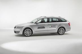Skoda Auto Deutschland GmbH: SKODA VIP-Shuttles fahren die Stars zum Radio Regenbogen Award 2015
