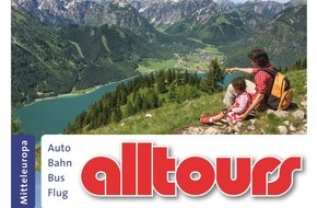 alltours flugreisen gmbh: alltours verdoppelt Eigenanreiseangebot und bietet 18 neue Ferienregionen im Sommer 2016 an / Neue Familienprodukte und mehr Kooperationen mit namhaften Hotelketten