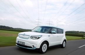 KIA Motors Deutschland GmbH: Kultiges E-Mobil mitten in der City testen: Kia Soul EV* auf Roadshow durch Niedersachsen