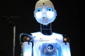"""Bundesanstalt für Arbeitsschutz und Arbeitsmedizin: Roboter erobern DASA Arbeitswelt Ausstellung / Ankündigung """"Die Roboter. Eine Ausstellung zum Verhältnis von Mensch und Maschine"""" vom 21. November 2015 bis 25. September 2016"""