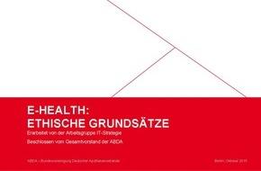 ABDA Bundesvgg. Dt. Apothekerverbände: E-Health: Apotheker beschließen ethische Grundsätze