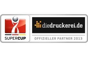 Onlineprinters GmbH: Onlineprinters ist offizieller Partner des Supercups 2013