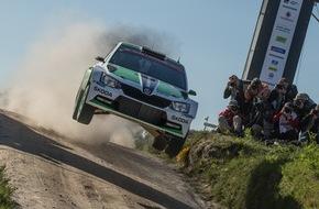 Skoda Auto Deutschland GmbH: Rallye Italien: Zweiter Härtetest für den SKODA Fabia R5 in der FIA Rallye-Weltmeisterschaft