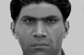 Polizei Düsseldorf: POL-D: Versuchte sexuelle Nötigung in Oberbilk - Polizei fahndet mit Phantombild nach dem Täter - Foto als Datei angehängt