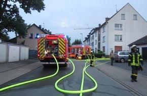 Feuerwehr Mülheim an der Ruhr: FW-MH: Brand im Gebäude einer Kraftfahrzeugwerkstatt am Klöttschen