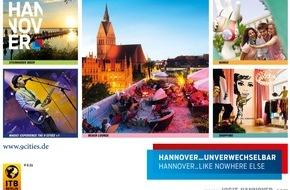 Hannover Marketing und Tourismus GmbH: Internationale Tourismusbörse Berlin / ITB: Hannover präsentiert sich ganz persönlich