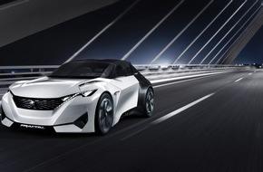 Peugeot (Suisse) SA: Peugeot Fractal: Elektro-Coupé mit neuartiger Soundsignatur