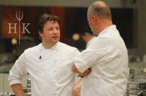 """SAT.1: Wer gewinnt """"Hell's Kitchen""""? Das Finale mit den Starköchen Jamie Oliver und Frank Rosin am Mittwoch, 11. Juni 2014 in SAT.1"""