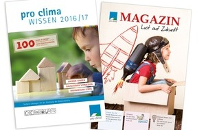 MOLL bauökologische Produkte GmbH: DACH+HOLZ 2016: Neuheiten für die sichere Dichtung der Gebäudehülle und druckfrisches Planungs- und Sanierungshandbuch WISSEN 2016/17 / pro clima in Halle 3, Stand 3.200