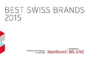 Interbrand: Interbrand Best Swiss Brands 2015 - Nescafé demeure la marque la plus performante de Suisse