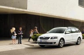 Skoda Auto Deutschland GmbH: Spar- und Lademeister: Neuer SKODA Octavia Combi GreenLine ab sofort bestellbar