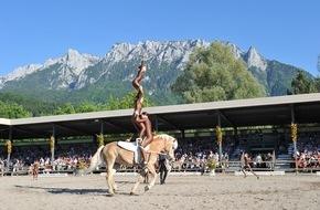 Haflinger Pferdezuchtverband Tirol: 04.-07.06.2015: Haflinger-Weltausstellung in Ebbs/Tirol