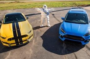 Ford-Werke GmbH: Kooperation zwischen Ford und Michelin - Ziel ist die optimale Bereifung von Ford Performance-Fahrzeugen