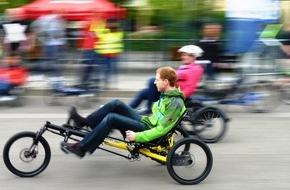 Spezialradmesse: Im Liegen geht es besser / 21. Internationale Spezialradmesse am 23. und 24. April