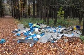 Polizeiinspektion Cuxhaven: POL-CUX: Illegale Müllentsorgung im Waldgebiet + A 27: Unfallzeugen gesucht  u.a.