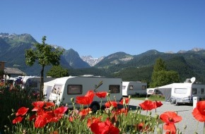 Alpenregion Bludenz: Camping in Vorarlberg 2012 mit neuen Angeboten