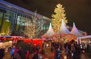Autostadt GmbH: Schnee, Eisshows und Wintermarkt: Die Autostadt eröffnet Winterinszenierung