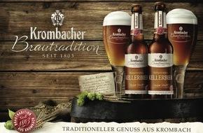 Krombacher Brauerei GmbH & Co.: Eine Überraschung im Jubiläumsjahr des Reinheitsgebotes - Krombacher Brautradition Kellerbier