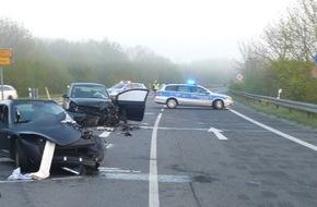 Polizei Düren: POL-DN: Schwerer Unfall auf der Bundesstraße
