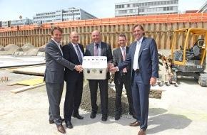 "LH&E Lifestyle Hospitality & Entertainment Management AG: Grundsteinlegung des Hotelprojekts ""Kameha Grand Zürich"" (Bild)"