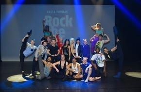 """Semmel Concerts: Hamburg: Am Tag des Tourstarts von """"Best of Rock the Ballet"""" besucht Fernanda Brandão das Cast der US-amerikanischen Tanzshow / Der in Hamburg lebende TV-Star und Fitness-Coach ist begeistert"""