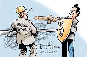 Bundesgeschäftsstelle Landesbausparkassen (LBS): Alle müssen zustimmen / Widerspruch eines Eigentümers gegen Mobilfunkantenne war erfolgreich