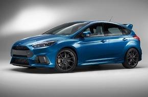 Ford-Werke GmbH: Neuer Ford Focus RS überzeugt mit Allradantrieb und Hochleistungs-Technologien