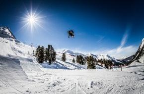 """Tourismusbüro Kühtai: """"Ride with the Stars"""" - ein Top-Event im KPark als Beginn der Zusammenarbeit zwischen Air & Style und den Bergbahnen Kühtai"""