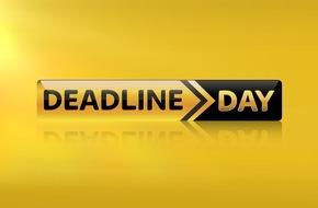 """Sky Deutschland: Montag ist """"Deadline Day"""": der Countdown zur Schließung des Transferfensters auf Sky Sport News HD"""