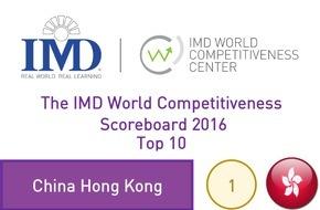 IMD International: Les pays d'Europe de l'Est rattrapent leur retard en terme de compétitivité selon le nouveau classement de l'IMD LAUSANNE