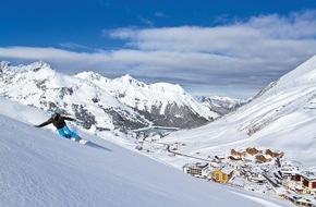 Tourismusbüro Kühtai: Kühtai im Mittelpunkt der internationalen Ski und Snowboard Szene - feierliche Eröffnung der neuen WiesBergBahn