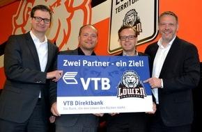 VTB Direktbank: VTB Direktbank verlängert Engagement als Hauptsponsor der Löwen Frankfurt