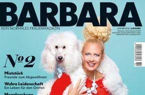Gruner+Jahr, BARBARA: Erfolgreicher Launch für BARBARA: Erstausgabe verkauft über 250.000 Exemplare