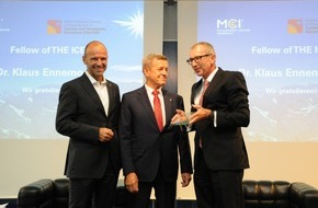 MCI Management Center Innsbruck: Lifetime Award an Klaus Ennemoser