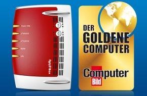 """AVM GmbH: AVM erhält """"Goldenen Computer"""" in der Kategorie eHome - FRITZ!Box ausgezeichnet"""
