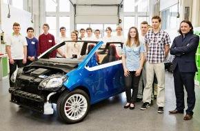 Skoda Auto Deutschland GmbH: SKODA Auszubildende bauen ihr Traumauto: Sportliches Cabriolet SKODA CitiJet