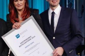 AHGZ: Schlagerstar Andrea Berg zur Gastronomie-Botschafterin ernannt