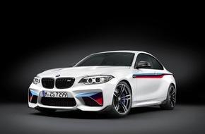 BMW Group: Umfangreiches neues Sortiment an BMW M Performance Zubehör für das neue BMW M2 Coupé / Vielfältige Komponenten zur Steigerung der Dynamik und Individualisierung des Designs