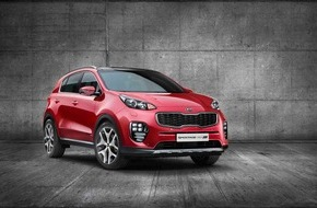 KIA Motors Deutschland GmbH: Neuer Kia Sportage feiert Premiere auf der IAA